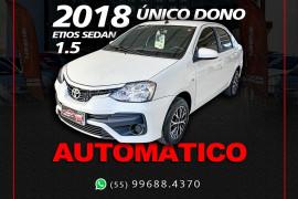 Toyota ETIOS X Sedan 1.5 Flex 16V 4p Aut. 2018 Flex