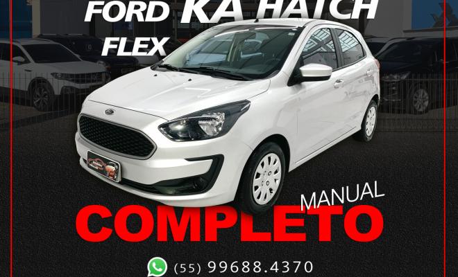 Ford Ka 1.0 SE/SE Plus TiVCT Flex 5p 2019 Flex