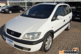 GM - Chevrolet Zafira 2.0/ CD 2.0  8V  MPFI 5p Mec. 2001 Gasolina