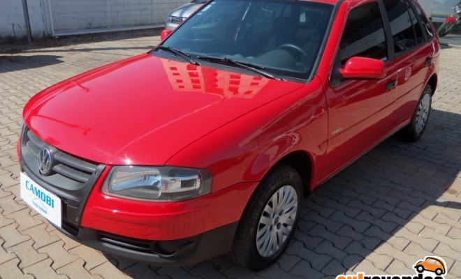 VW - VolksWagen Gol 1.6 Mi Power Total Flex 8V 4p 2009 Gasolina