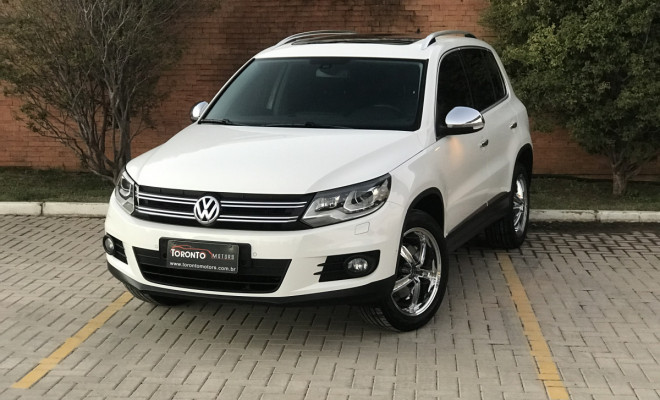 VW - VolksWagen TIGUAN 2.0 TSI 16V 200cv Tiptronic 5p 2012 Gasolina