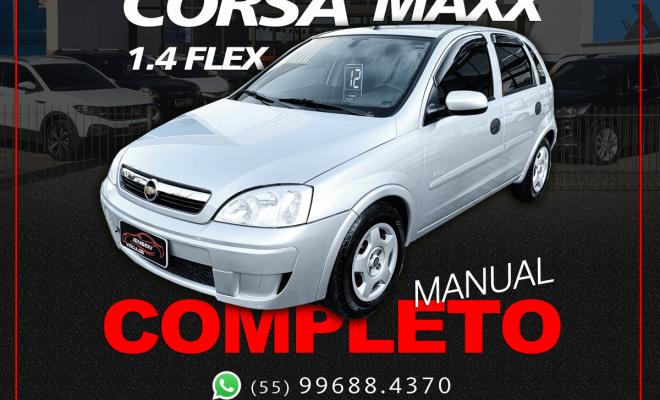 GM - Chevrolet Corsa Hat. Maxx 1.4 8V ECONOFLEX 5p 2012 Flex