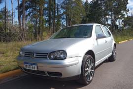 VW - VolksWagen Golf 1.6Mi/ 1.6Mi Gener./Black & Silver 2001 Flex