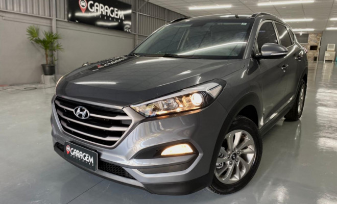 Hyundai Tucson GLS 1.6 Turbo 16V Aut. 2018 Gasolina