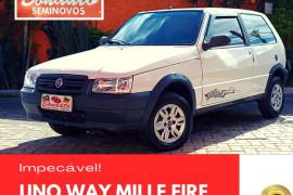 Fiat Uno Mille 1.0 Fire/ F.Flex/ ECONOMY 2p 2013 Gasolina