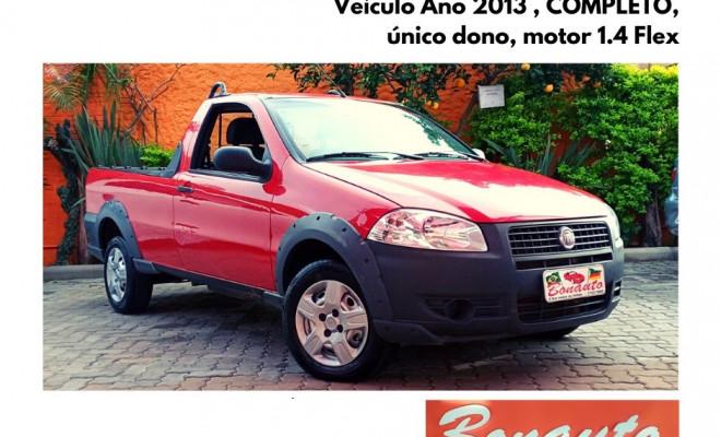 Fiat Strada Working 1.4 mpi Fire Flex 8V CE 2013 Flex