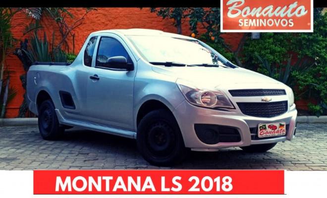 GM - Chevrolet MONTANA LS 1.4 ECONOFLEX 8V 2p 2018 Flex