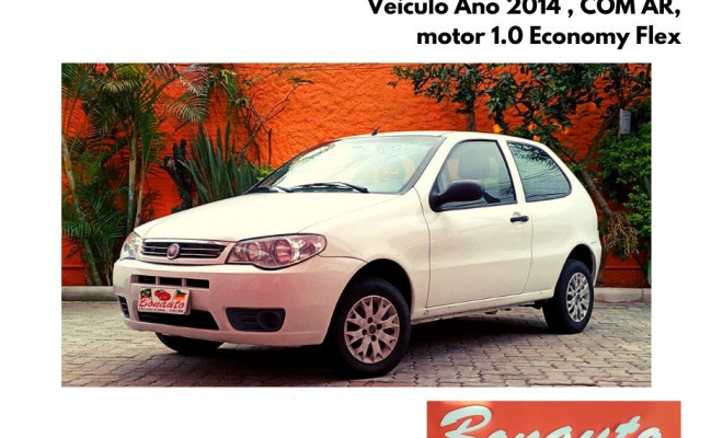 Fiat Palio 1.0 ECONOMY Fire Flex 8V 2p 2014 Flex
