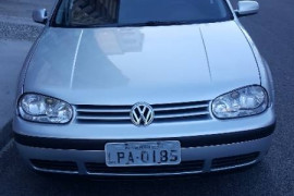 VW - VolksWagen Golf 1.6Mi/ 1.6Mi Gener./Black & Silver 2004 Gasolina