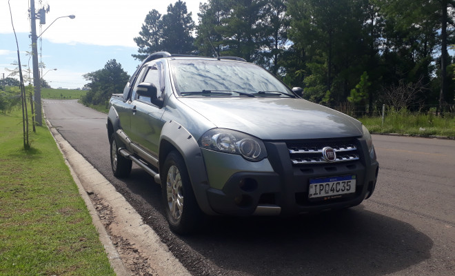 Fiat Strada Adventure 1.8/ 1.8 LOCKER Flex CE 2009 Flex