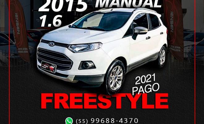 Ford EcoSport FREESTYLE 1.6 16V Flex 5p 2015 Flex
