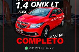 GM - Chevrolet ONIX HATCH LT 1.4 8V FlexPower 5p Mec. 2014 Flex