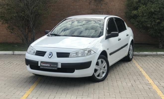 Renault Megane Sedan Expression Hi-Flex 1.6 16V 2009 Flex