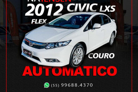 Honda Civic Sedan LXS 1.8/1.8 Flex 16V Aut. 4p 2012 Flex